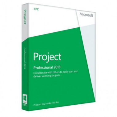 Купить Microsoft Project Professional 2013