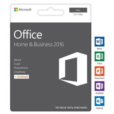 Купить Microsoft Office 2016 Home and Business for MAC