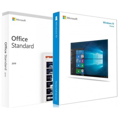 Купить Windows 10 Home и Office 2019 Standard