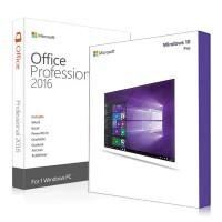 Windows 10 Pro и Office 2016 Pro Plus