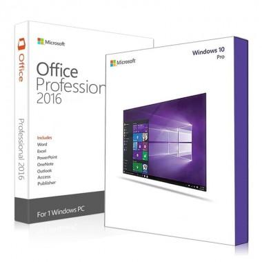 Купить Windows 10 Pro и Office 2016 Pro Plus