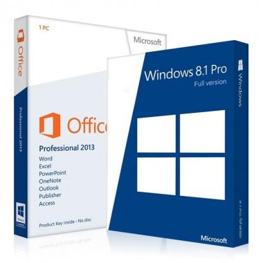 Купить Windows 8.1 Professional + Office 2013 Pro Plus